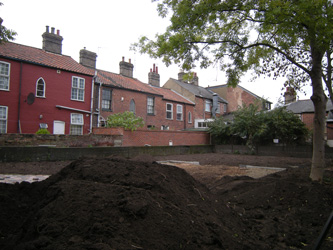 Grapes Hill Community Garden - Topsoil has arrived