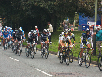 Tour of Britain on Grapes Hill