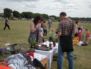 Mile Cross Festival stall